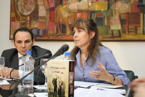 ANNE EDELSTAM SPEAKS AT SEMINAR